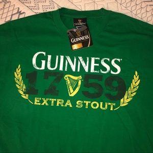 Green Guinness beer shirt